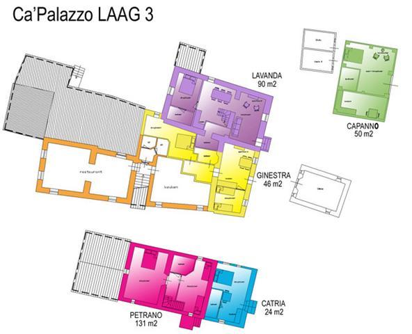 Ca'Palazzo laag 3